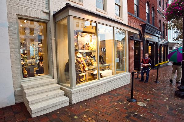 Georgetown Shoe Stores Washington Dc